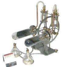 Hielscher Twin Stirling Engine - Finished Model